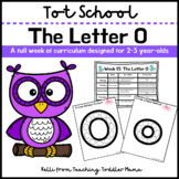 Tot School: The Letter O Week of Curriculum for 2-3 Year-Olds