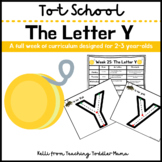 Tot School: The Letter Y Week of Curriculum for 2-3 Year-Olds