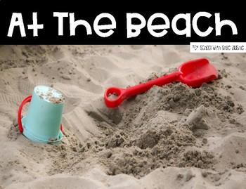 Tot School Theme: At The Beach