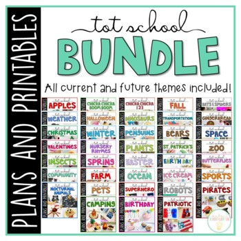 Tot School: Toddler Curriculum {Plans and Printables} GROWING BUNDLE
