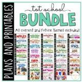 Tot School: Toddler Curriculum {Plans and Printables} BUNDLE