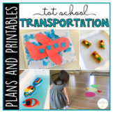 Tot School: Transportation {Plans and Printables}