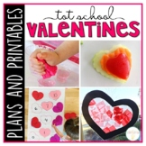 Tot School: Valentines {Plans and Printables}