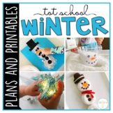 Tot School: Winter {Plans and Printables}