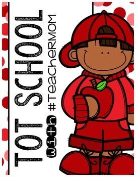 Tot School with #TeacherMom