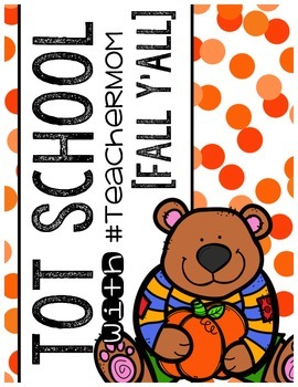 Tot School with #TeacherMom: Fall Y'All