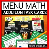 Addition Money Word Problems Task Cards