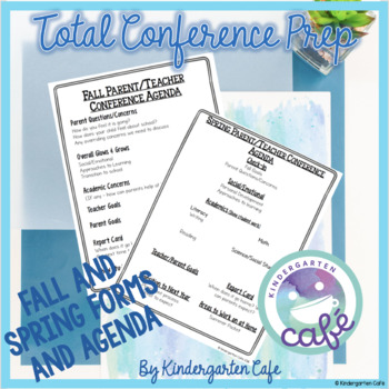 Total Conference Prep! Editable!