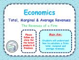 Total, Marginal & Average Revenues - Revenue of a Firm - Profit Maximisation
