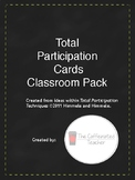 Total Participation Task Cards