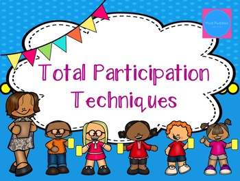 Total Participation Techniques Box