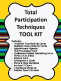 Total Participation Techniques Tool Kit- EDITABLE