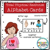 Sign Language Alphabet Task Cards