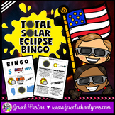 Total Solar Eclipse 2017 Activities (Solar Eclipse 2017 Bingo)