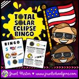 Total Solar Eclipse 2017 Activities (Solar Eclipse 2017 Bingo)
