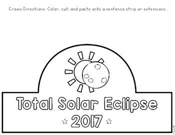 Total Solar Eclipse 2017 Crown