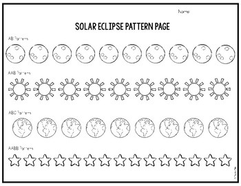 Total Solar Eclipse 2017 Pattern Page