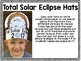 Solar Eclipse Hats Freebie