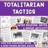 Totalitarian Leaders: Propaganda Group Activity & Guided Notes: Hitler, Stalin..
