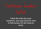 Totalitarian Leaders Hotlist : Dictators of WWII