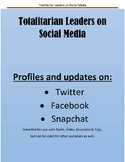 Totalitarian Leaders on Social Media