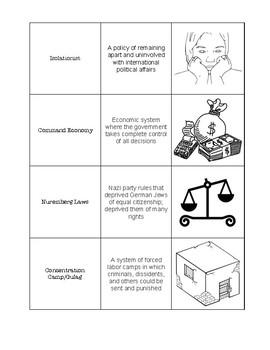 Totalitarian - Vocabulary Card Sort