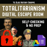 Totalitarianism Digital Escape Room - AP Euro & World History Distance Learning
