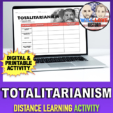 Totalitarianism   Distance Learning Activity