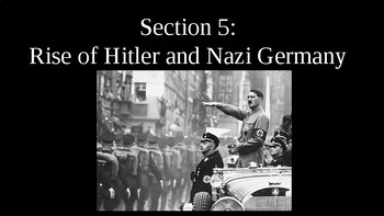 Totalitarianism - Hitler and the Rise of Nazis PowerPoint