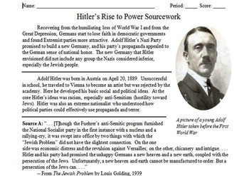 Totalitarianism & Holocaust Unit Notes, Activities, & Test Bundle