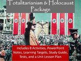 Totalitarianism & Holocaust Unit Notes, Activities, & Test Bundle
