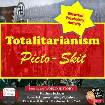Totalitarianism Picto-Skit Interactive Activity (World His