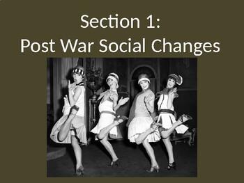 Totalitarianism - Postwar Social Changes - PowerPoint