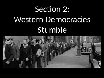 Totalitarianism - The Western Democracies Stumble - PowerPoint