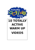 Totally Active Warm Up Games