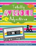 Totally Awesome Adjectives- Classroom or Hallway Hunt 3rd Grade CCSS L.1.a