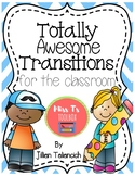 Totally Awesome Transitions FREEBIE