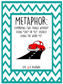 Totally Cool Figurative Language Posters