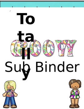 Totally Groovy Sub Binder Crover
