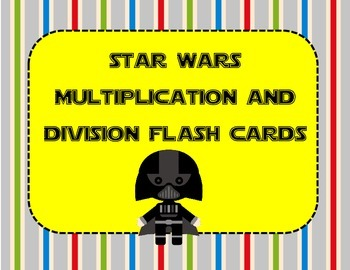 Totally Just for FUN! Star Wars Themed Multiplication & Di