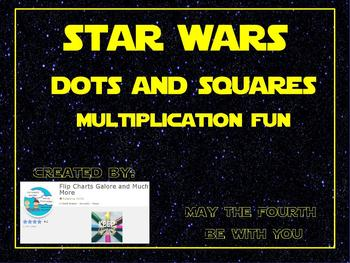 Totally Just for FUN! Star Wars Themed Multiplication Squares and Dots Game