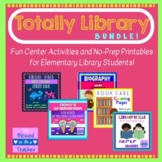 Totally Library Bundle - Printables and Games for the Libr