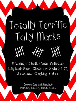 Totally Terrific Tally Marks Activity Packet