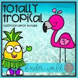Totally Tropical Classroom Decor Bundle