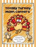 Totally Turkey Math Centers