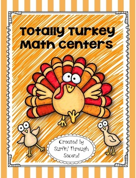Totally Turkey Math Centers