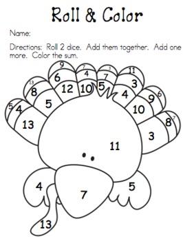 Totally Turkey Mini Math Unit....Updated!