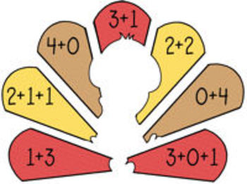 Totally Turkeys! {math centers for number collections, addition, & subtraction}