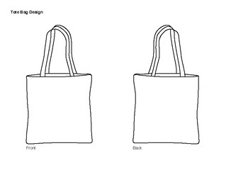 Tote Bag Design Template