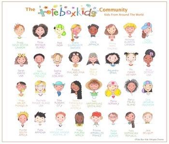 Tote Box Kids™ Around The World